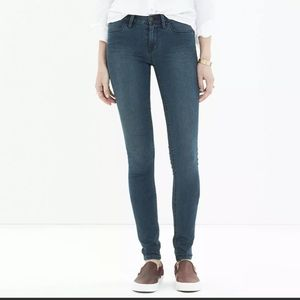Madewell Legging Jegging Skinny Jean Medium Wash